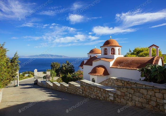 Monastery of Agios Savvas, Pothia, Kalymnos, Greece