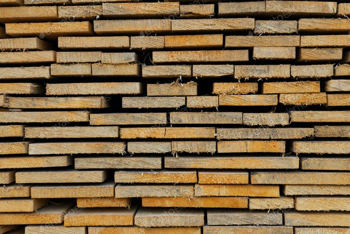 Closeup pattern cutting wood stack for background