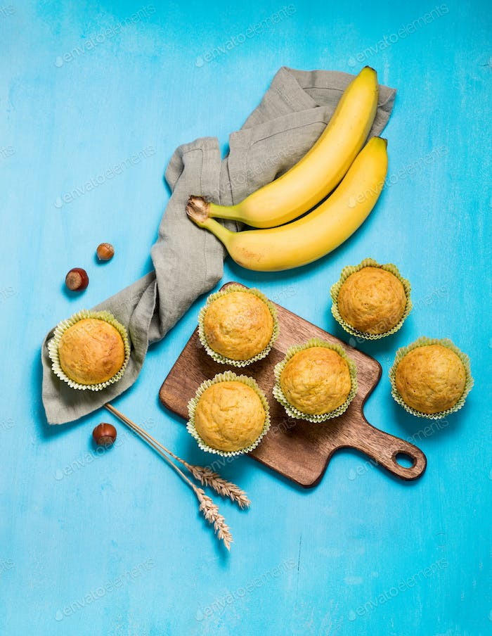 Muffins with Bananas