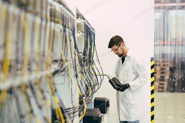 Network hardware inspection