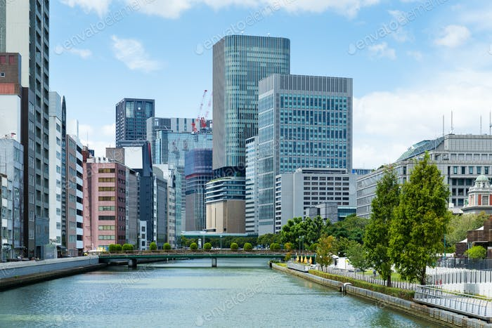 Osaka administrative district, nakanoshima