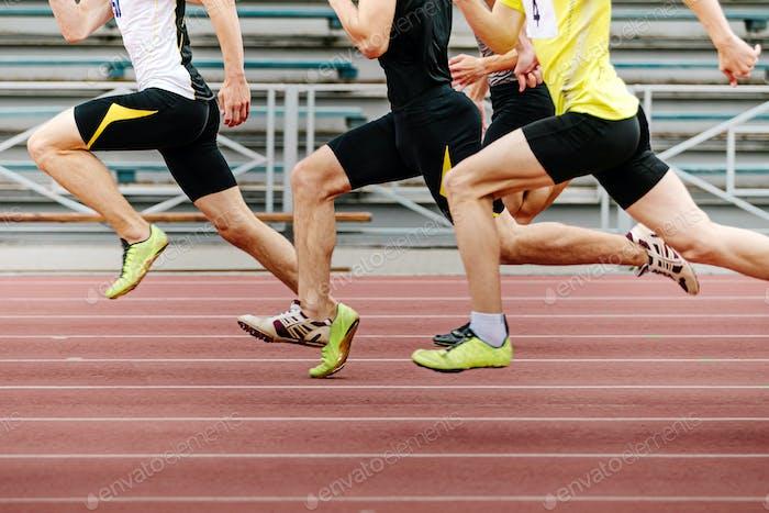 Beine Herren Athleten Läufer