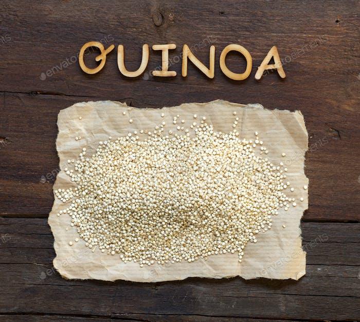 Quinoa and a  word   Quinoa