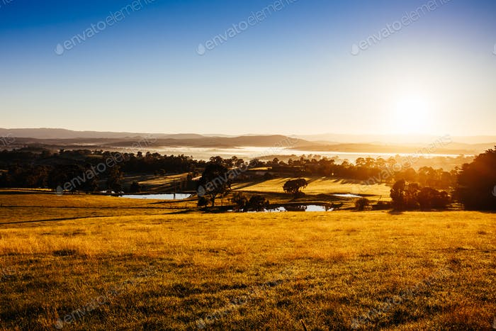 Kangaroo Ground View in Australia