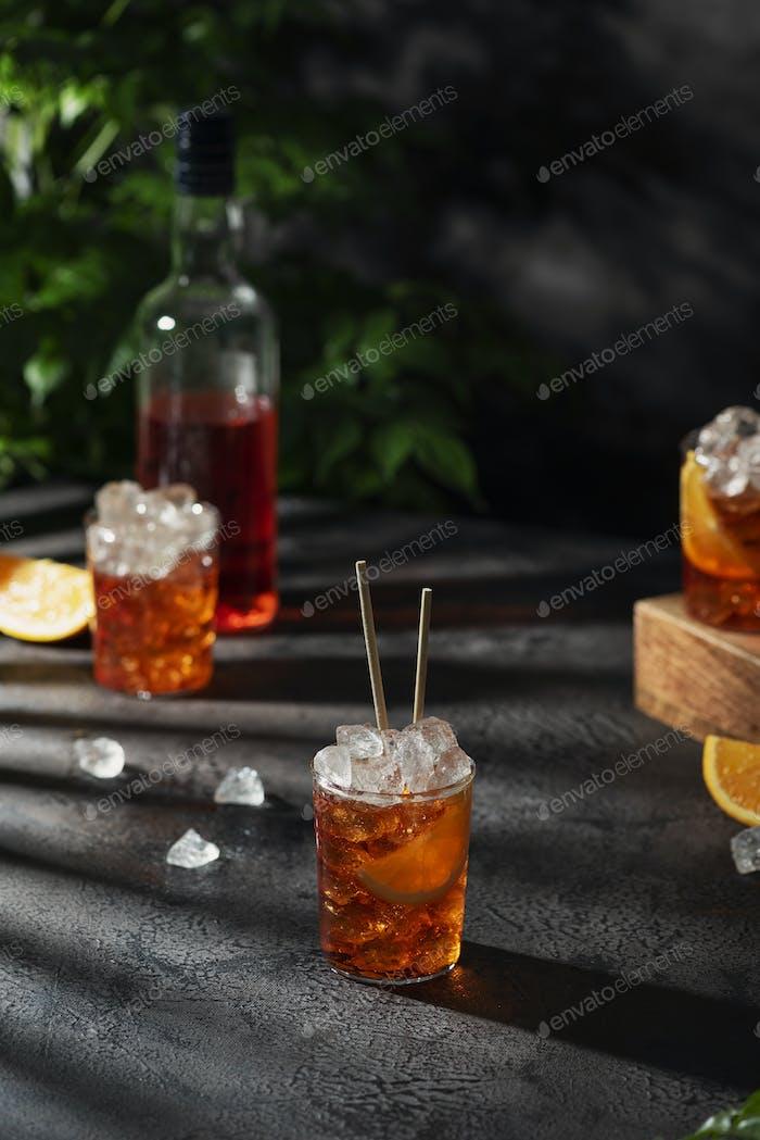 Summer Italian cocktail aperol