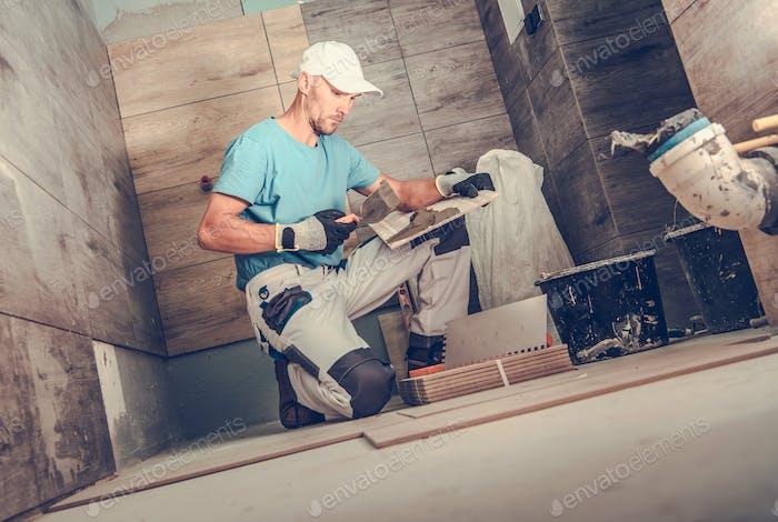 Bathroom Remodeling by Men