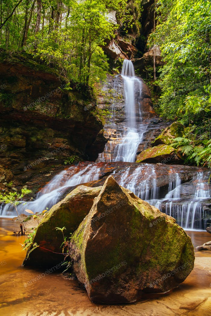 Leura Cascades Blue Mountains Australien