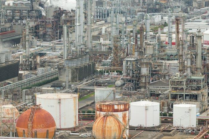 Industry factory in yokkaichi