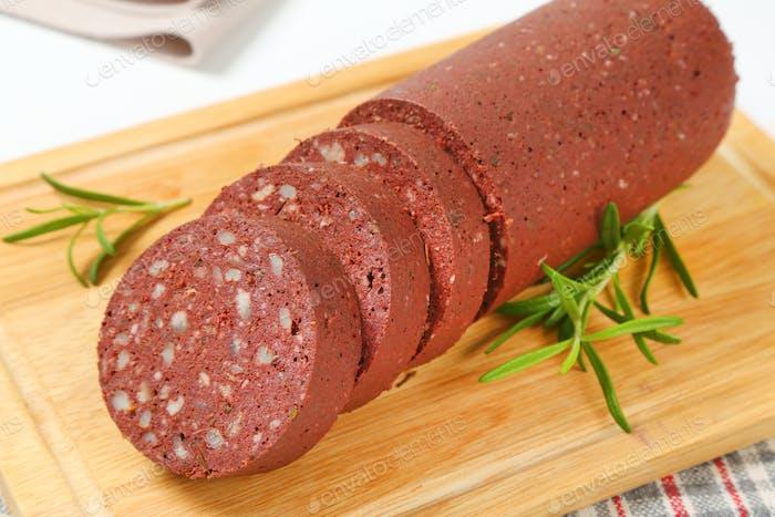 blood sausage (black pudding)