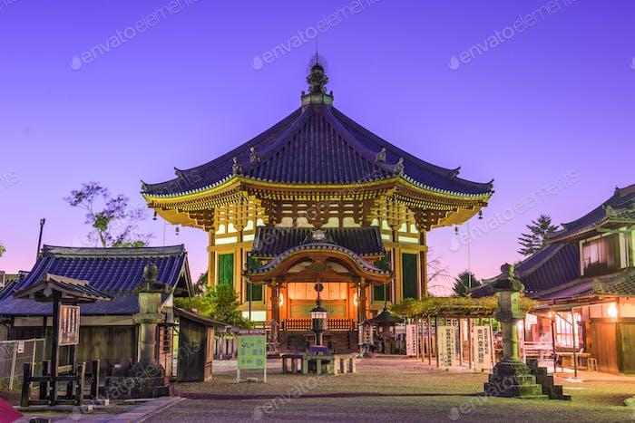 Pavilion in Nara, Japan