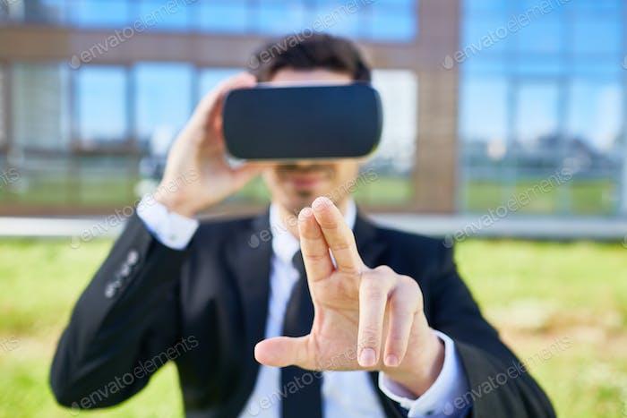 Virtual button