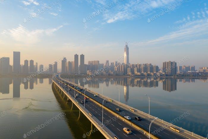 Modern cities and Bridges