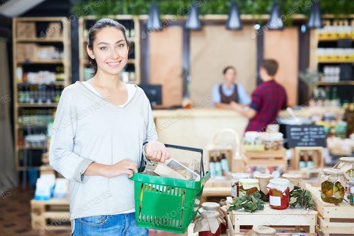 Consumidor en el supermercado