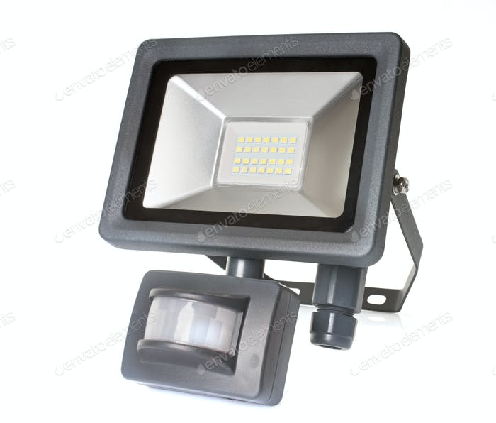 spotlight with motion sensor