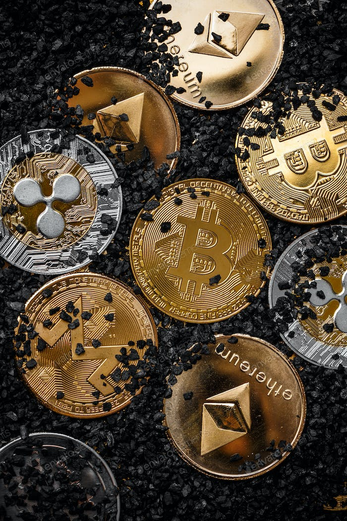 Set of cryptocurrencies