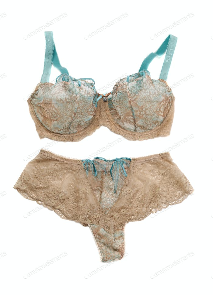 Beige Set of lingerie