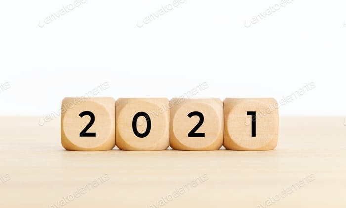 2021 year concept