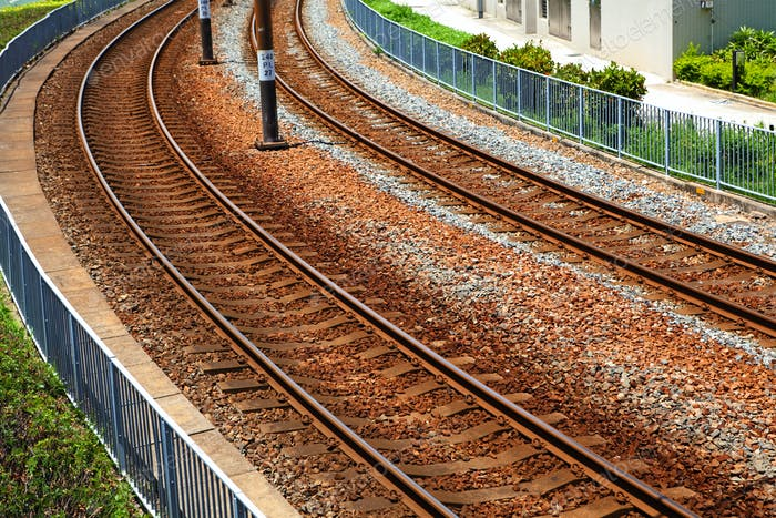Linie der Eisenbahn