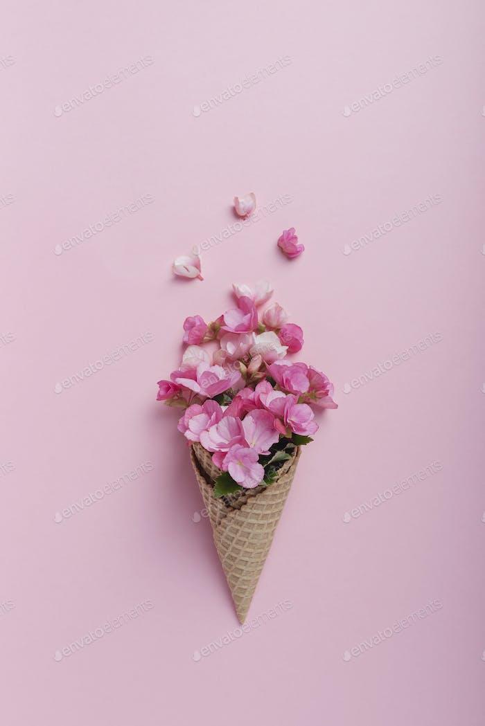 Summer minimal concept.