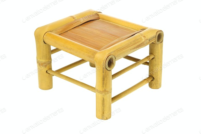 Chinese Bamboo Stool