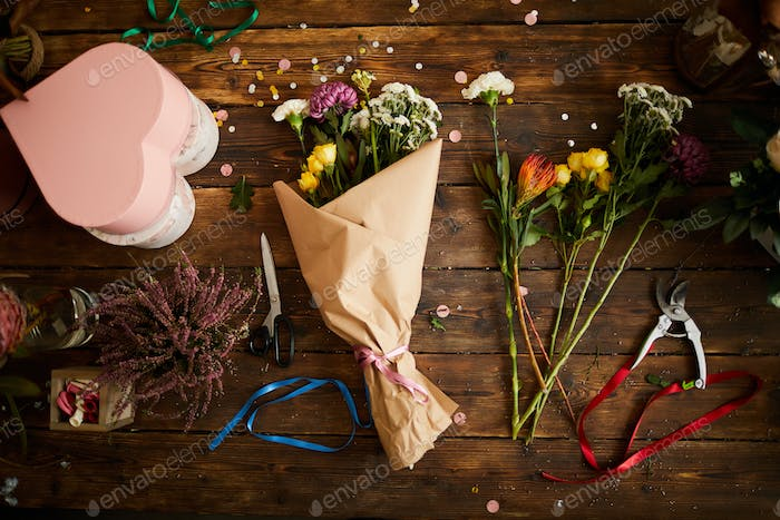 Crafted Bouquets Background