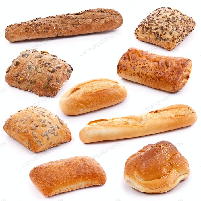 Thumbnail for Assortment of bread