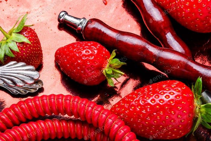 Fruit smoking hookah