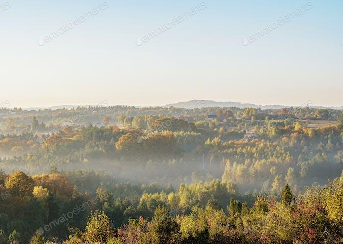 Landschaft des Krakau-Tschenstochauer Hochland