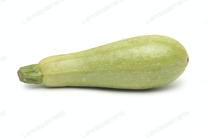 Fresh marrow vegetable. Isolated on white background