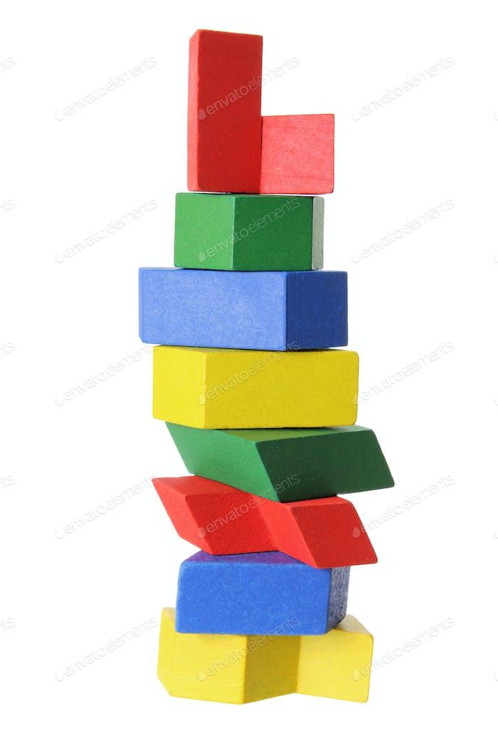 Wooden Puzzle Pieces