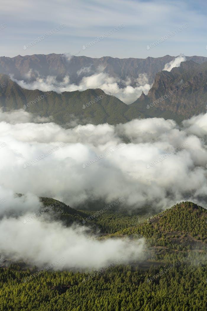 La Cumbrecita View, La Palma, Spain