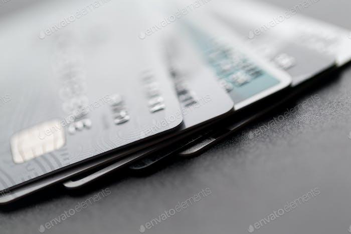 Heap of credit card