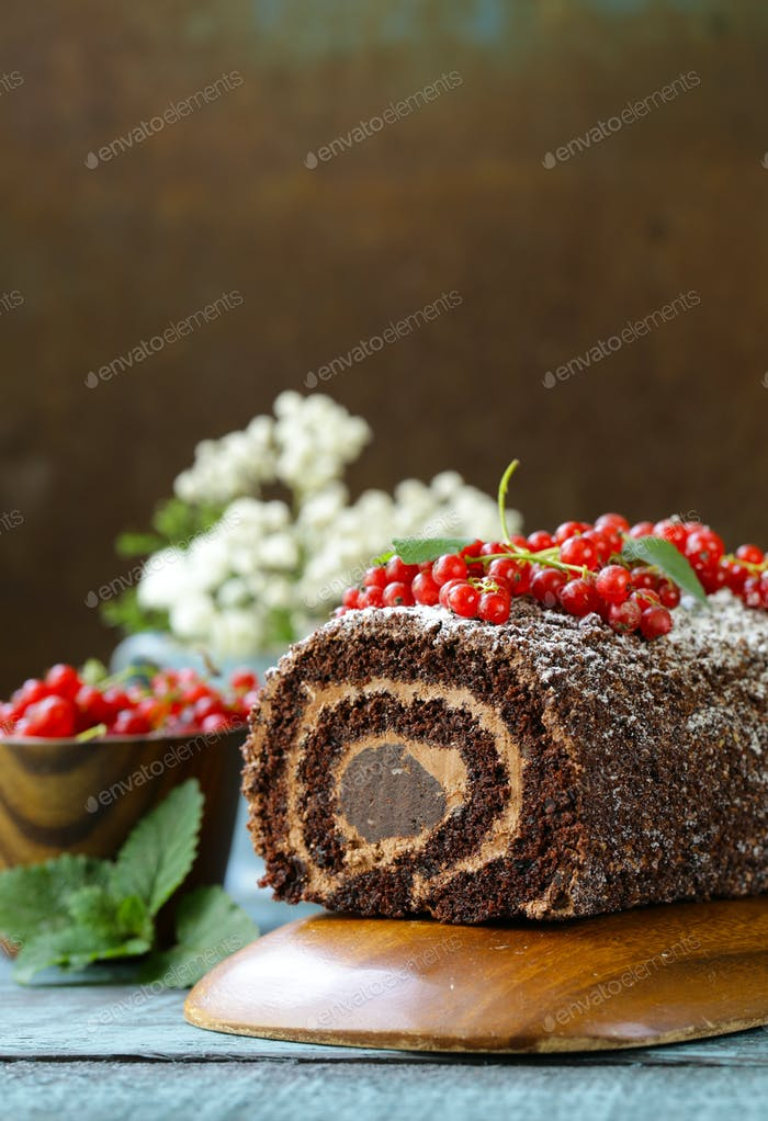 Chocolate Biscuit Roll