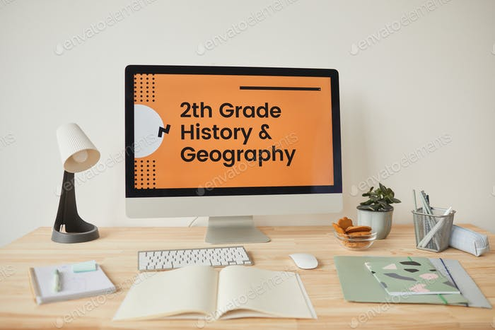 Online School Background