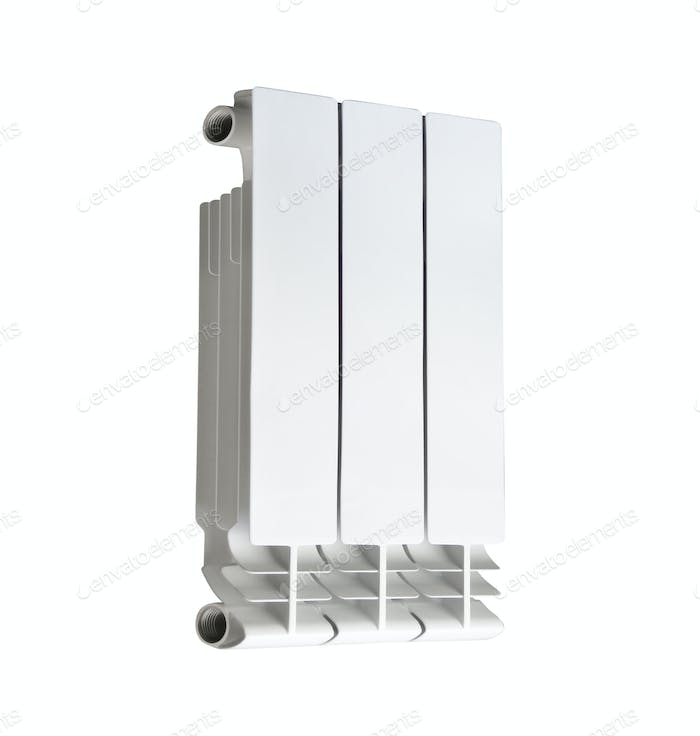 Heating radiator isolated