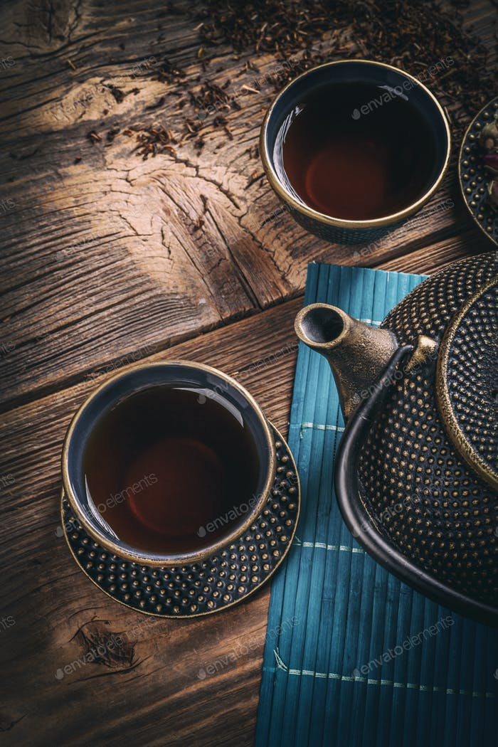 Asian iron tea
