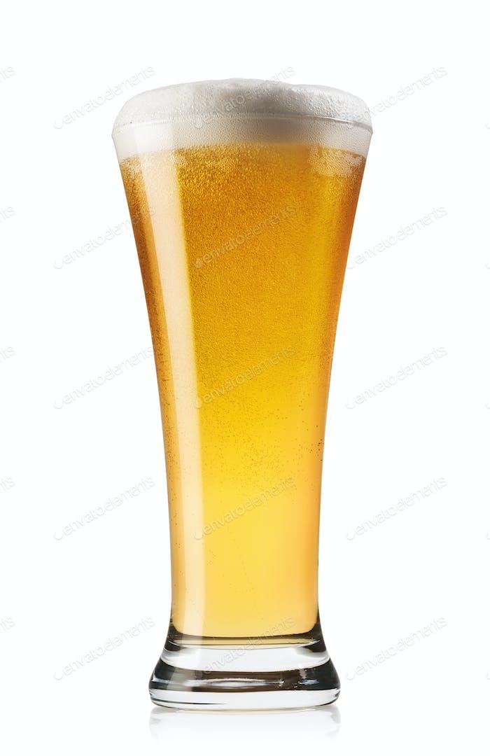 Verlängern Sie ein Glas Bier