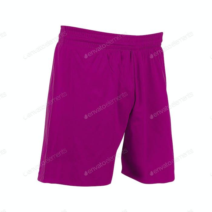 shorts isolated on white