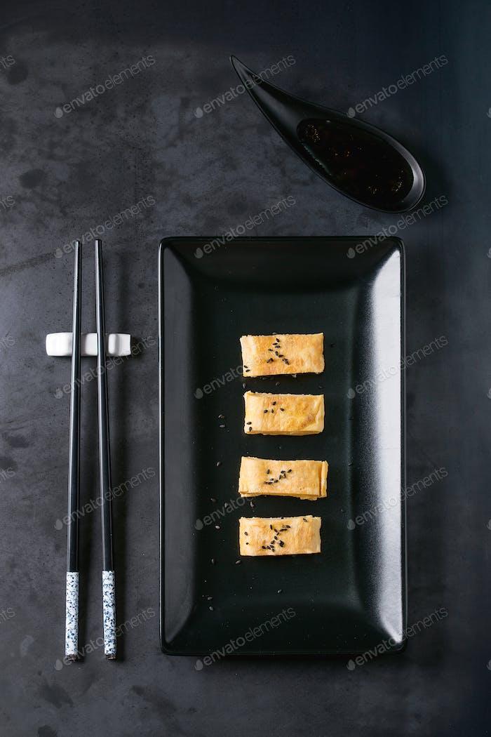 Japanese Rolled Omelette Tamagoyaki
