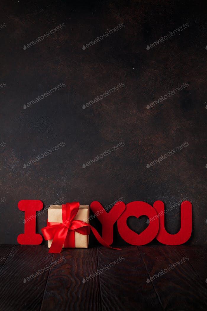 Valentinstag Geschenkbox