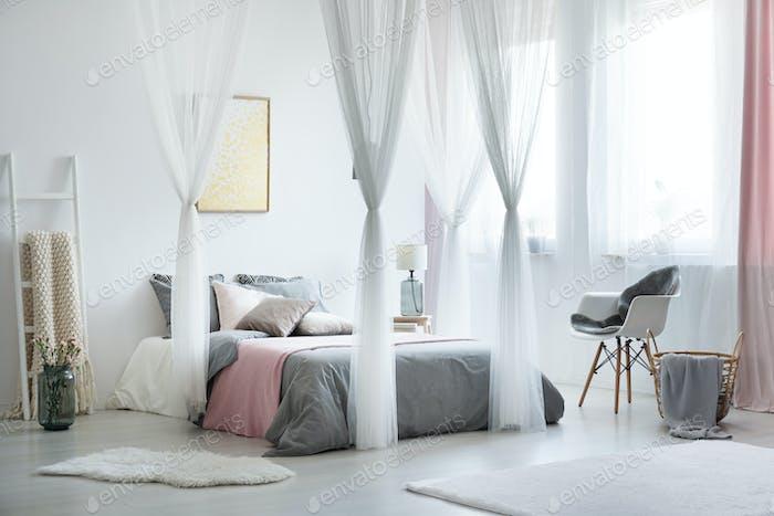 Balanced and calm interior design