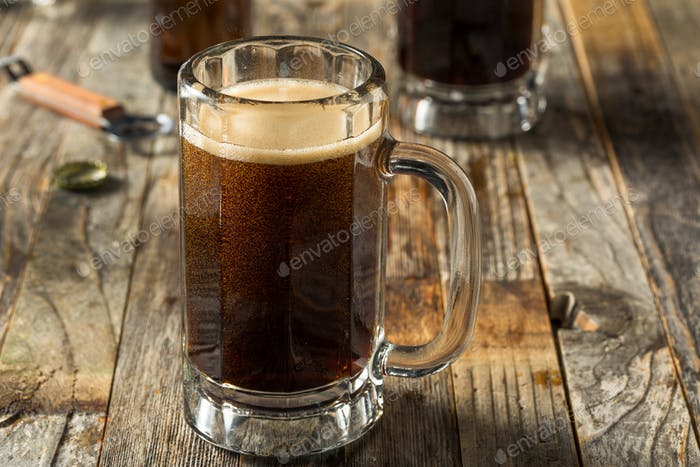 Homemade Birch Beer Drink