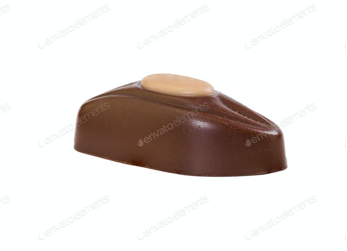 Chocolate candies with praline