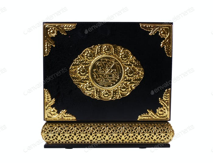 Black and Gold Quran Box
