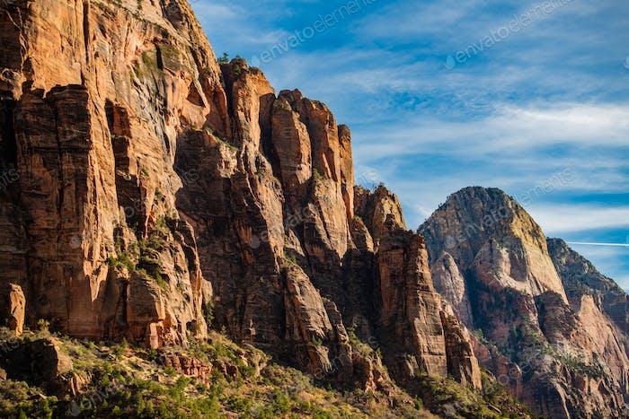 Bunte Landschaft vom Zion Nationalpark Utah
