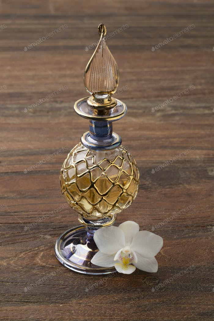 Vintage Arabic handmade Perfume Bottle