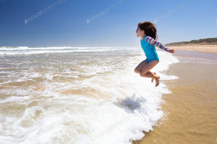 Happy Kids on Beach