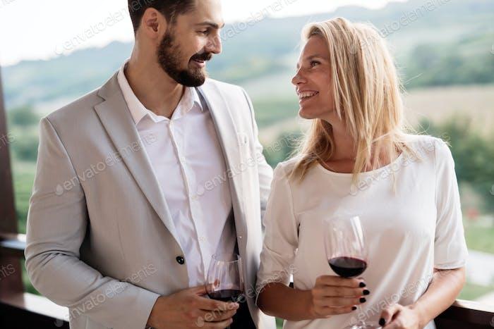 Weinprobe auch
