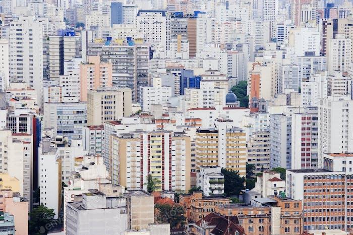 Buildings of Downtown Sao Paulo