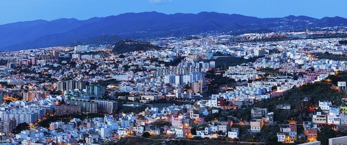 Panorama of Santa Cruz de Tenerife